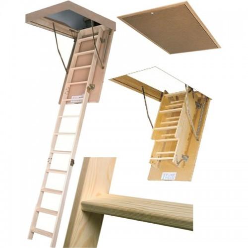 Складная чердачная лестница Fakro LWS