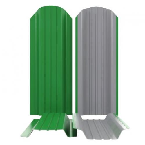 П- Образный металлический штакетник