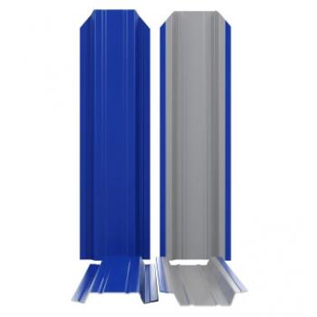 штакетник П-образный узкий (85мм)